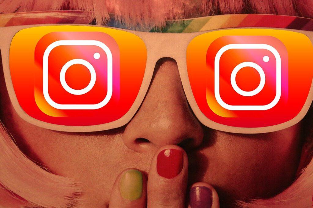 girl, glasses, instagram